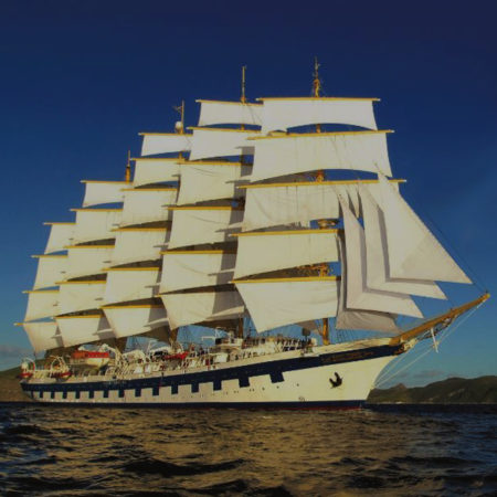 ROYAL CLIPPER MEDITERRANEAN SAILING 2022