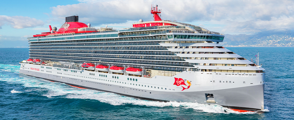 VIRGIN VOYAGES SCARLET LADY CARIBBEAN CRUISE JUNE 6 - 11, 2021
